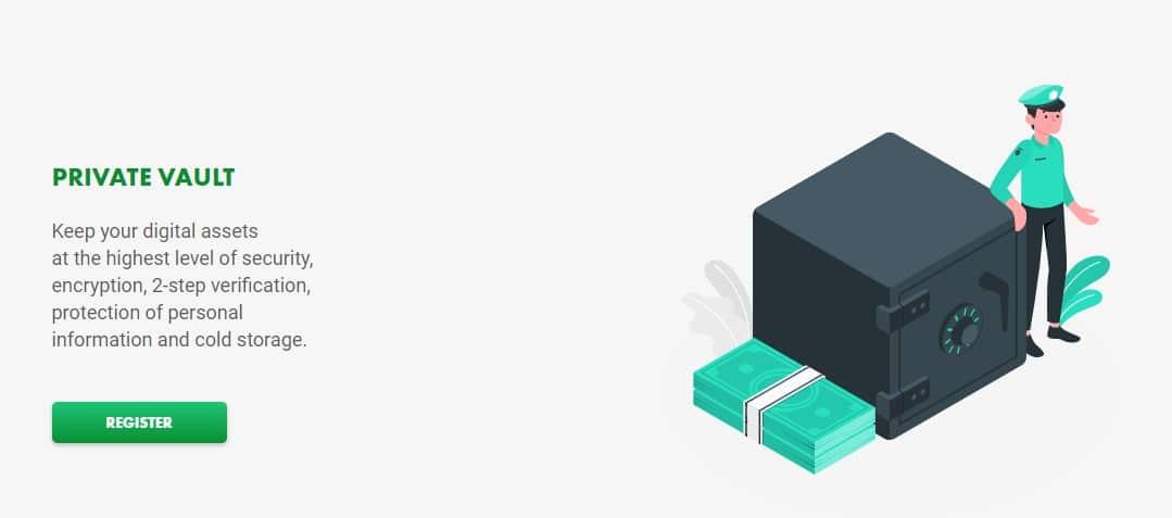 BitExChain crypto storage