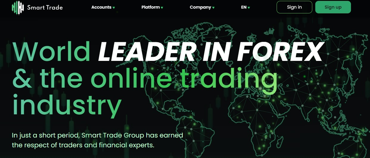 Smart Trade Group website